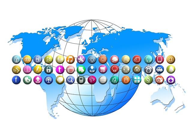 svět a média, síť