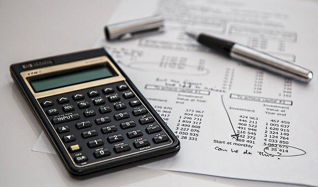 počítání daní