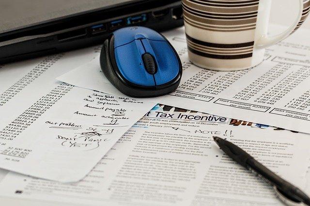 papírování kolem daní