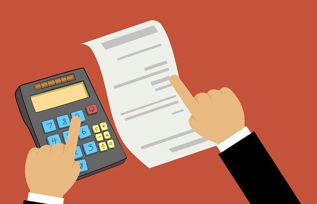 daně ilustrace