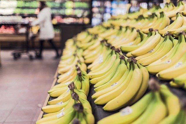 vyložené banány