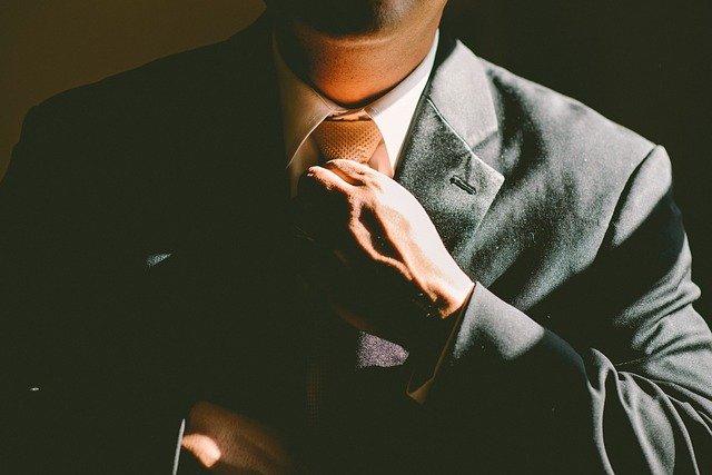 elegantní podnikatel