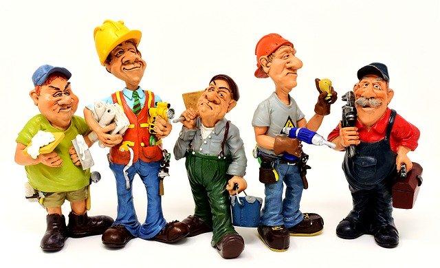 figurky řemeslníků