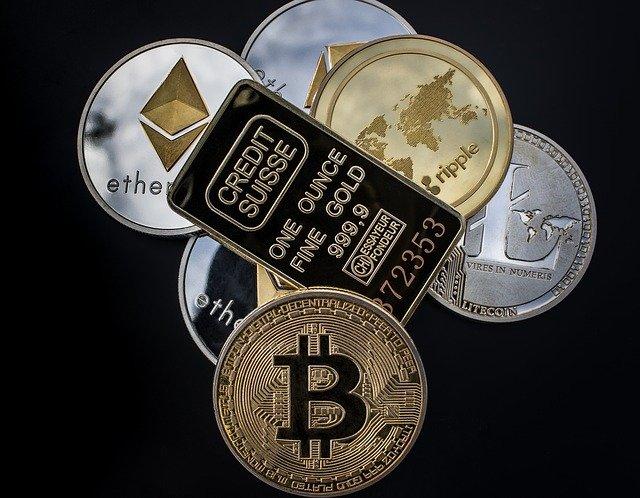 zlato a kryptoměny