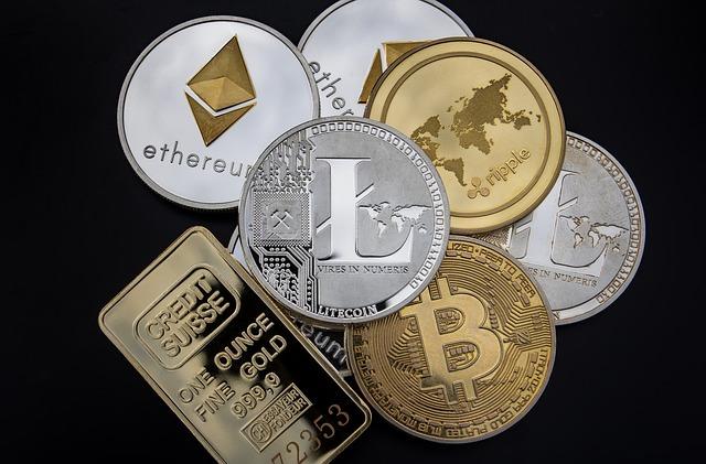 kryptoměny a zlato
