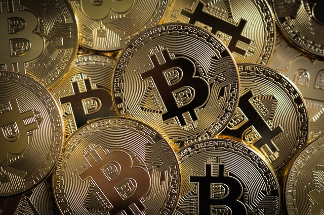 ilustrace Bitcoiny
